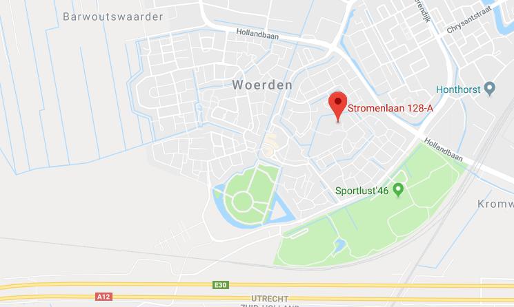 Stromenlaan 128-a, 3448 CH Woerden, Nederland